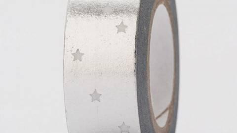 Tape Sterne silber Hot Foil 15mm 10m kaufen im Makerist Materialshop