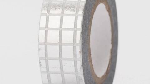 Tape Gitter silber Hot Foil 15mm 10m kaufen im Makerist Materialshop