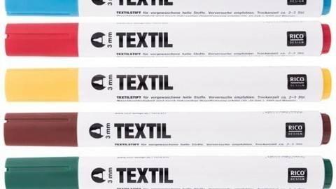 Textilmarker helle Stoffe kaufen im Makerist Materialshop