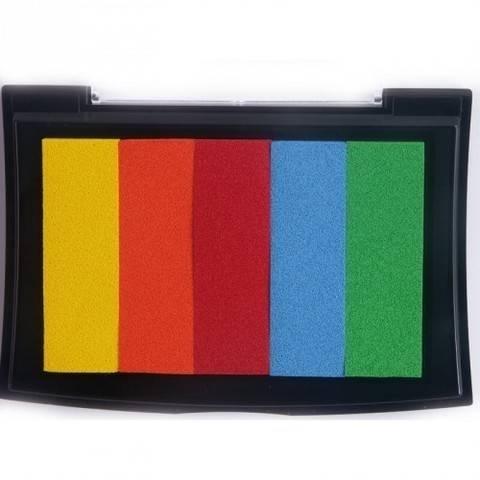 Versa Color Stempelfarbe rainbow fiesta 7x4cm kaufen im Makerist Materialshop