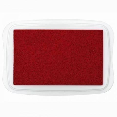 Textilstempelkissen rot 10x7cm kaufen im Makerist Materialshop