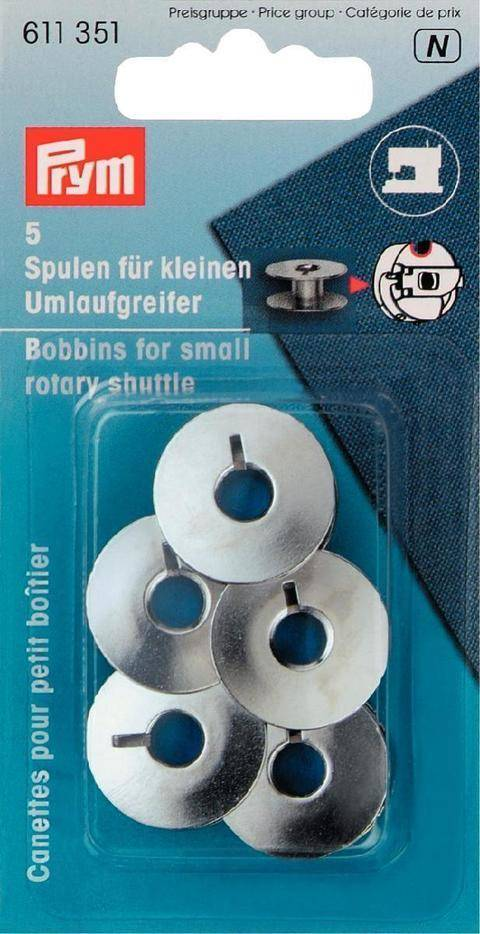 Spulen für kleinen Umlaufgreifer von Prym - 5 Stk. kaufen im Makerist Materialshop