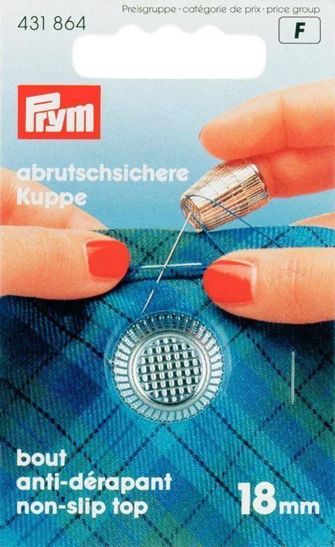 Fingerhut silberfarbig von Prym kaufen im Makerist Materialshop
