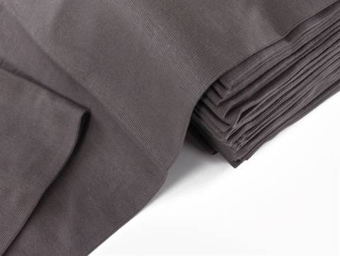 Graubrauner Bündchenstoff, gerippt - 75 cm kaufen im Makerist Materialshop