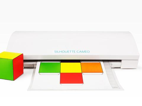 Weißer Hobbyplotter - SILHOUETTE CAMEO 3 - Plotter und Folien kaufen im Makerist Materialshop
