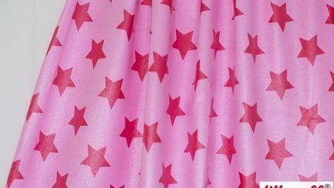 Rosa-Himbeer Rain Coat lillestoff: Stars - 150 cm kaufen im Makerist Materialshop