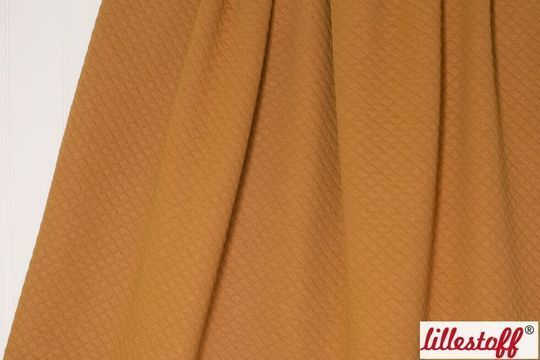 Acheter Coton bio matelassé caramel lillestoff - 150 cm - Tissus dans la mercerie Makerist