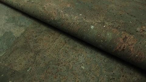 Blaugrüne Korkfolie Naturprodukt: Kork - 100 cm kaufen im Makerist Materialshop
