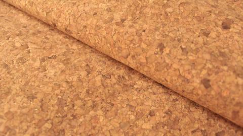 Braun marmorierte Korkfolie Naturprodukt: Kork - 100 cm kaufen im Makerist Materialshop