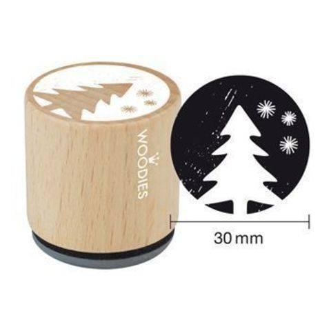 Woodies Motivstempel: Weihnachten - 30 mm kaufen im Makerist Materialshop