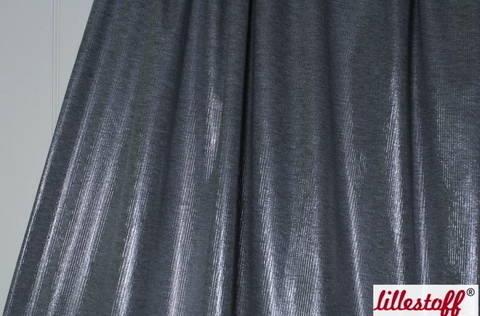 Grau-melierter Rain Coat Rippjersey lillestoff: - 160 cm kaufen im Makerist Materialshop