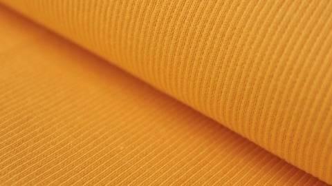 Gelber Bündchenstoff, gerippt - 27 cm kaufen im Makerist Materialshop
