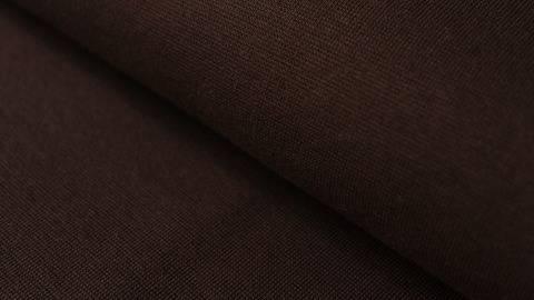 Brauner Bündchenstoff, glatt - 35 cm kaufen im Makerist Materialshop