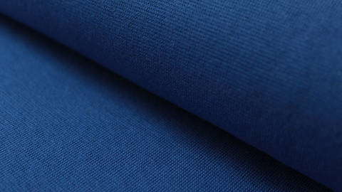Royalblauer Bündchenstoff, glatt - 35 cm kaufen im Makerist Materialshop