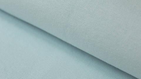 Hellblauer Bündchenstoff, glatt - 35 cm kaufen im Makerist Materialshop