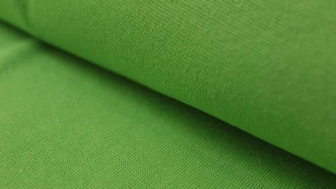 Kiwigrüner Bündchenstoff, glatt - 35 cm kaufen im Makerist Materialshop