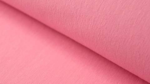 Rosafarbener Stretch-Jersey - 145 cm kaufen im Makerist Materialshop