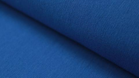 Blauer Stretch-Jersey - 145 cm kaufen im Makerist Materialshop