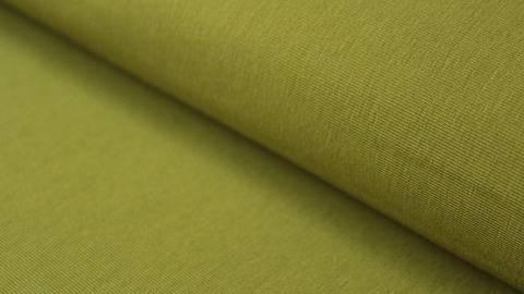 Olivgrüner Stretch-Jersey - 145 cm kaufen im Makerist Materialshop