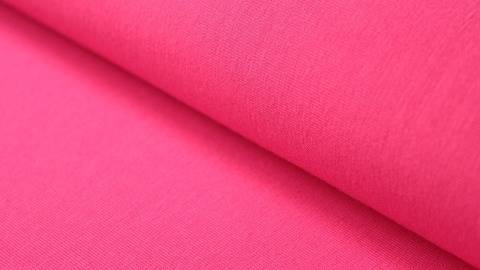 Pinkfarbener Stretch-Jersey - 145 cm kaufen im Makerist Materialshop
