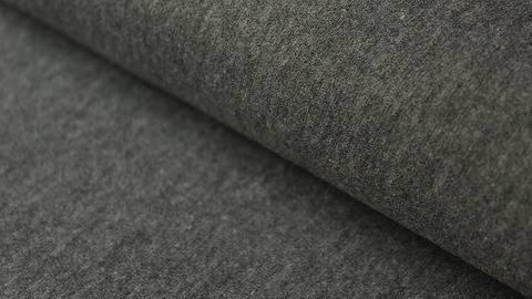 Dunkelgrau-melierter Stretch-Jersey - 145 cm kaufen im Makerist Materialshop