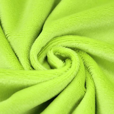 """Acheter Panne de velours microfibres pour peluches """"SHORTY"""" par kullaloo - vert dans la mercerie Makerist"""