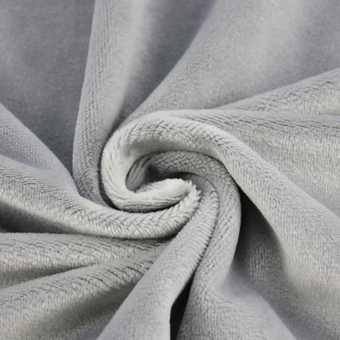 """Kuschelweicher Microfaserplüsch """"SHORTY"""" von kullaloo - grau kaufen im Makerist Materialshop"""
