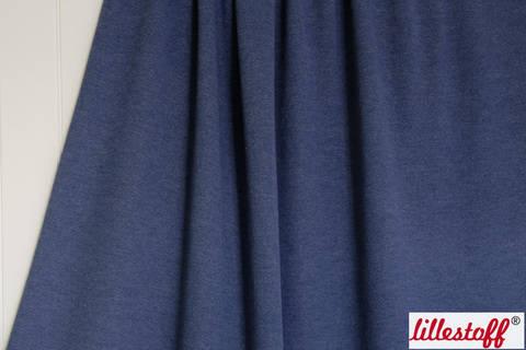 Sweat lillestoff: Mittelblau - 160 cm kaufen im Makerist Materialshop