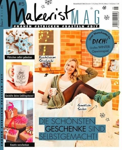 Makerist Mag #5 - Magazin für den Handmade Lifestyle kaufen im Makerist Materialshop