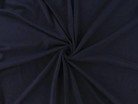 Dunkelblauer Sweatshirtstoff - 150 cm kaufen im Makerist Materialshop