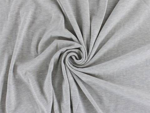 Grauer Sweatshirtstoff - 150 cm kaufen im Makerist Materialshop