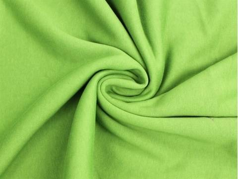 Gelbgrüner Sweatshirtstoff - 150 cm kaufen im Makerist Materialshop
