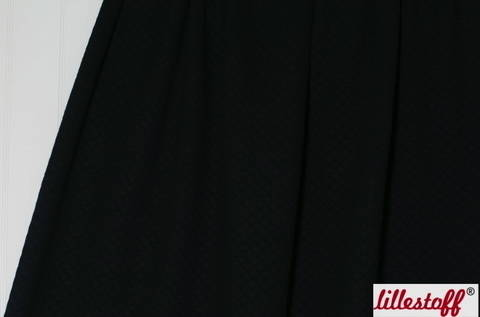 Schwarz gesteppte Bio-Baumwolle lillestoff - 170 cm kaufen im Makerist Materialshop