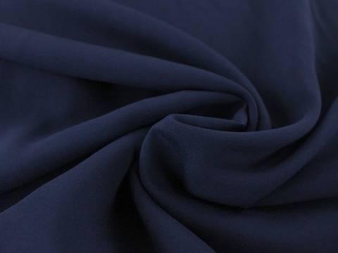 Marineblaue Viskose Voile - 135 -140 cm kaufen im Makerist Materialshop