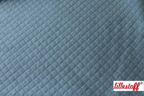 Taubenblau wattierte Bio-Baumwolle: gesteppt - 160 cm kaufen im Makerist Materialshop