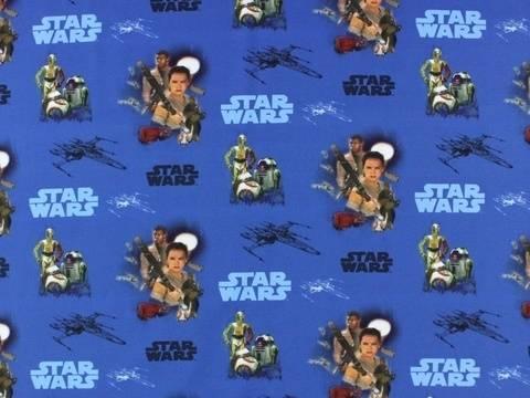 Royalblauer Star Wars Jersey: Star Wars - 145 cm kaufen im Makerist Materialshop