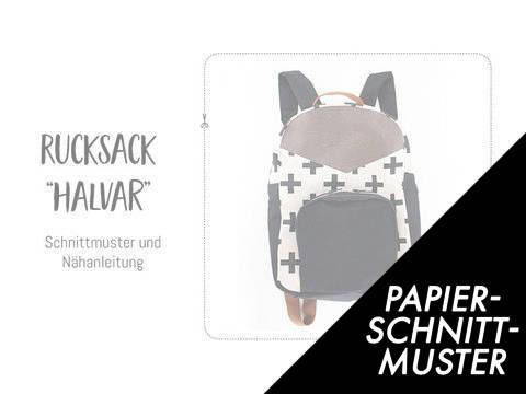 """Gedrucktes Schnittmuster für: Rucksack """"Halvar"""" kaufen im Makerist Materialshop"""