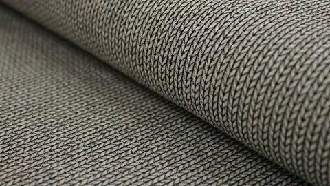 Hellgrau-schwarzer Hamburger Liebe Elastic-Jersey: knit knit - 130 cm kaufen im Makerist Materialshop