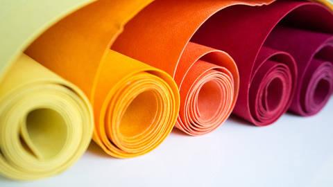 """Farbpaket """"Herbsttöne"""": Waschbares Papier von kulörtexx kaufen im Makerist Materialshop"""