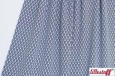 Marine Jacquard lillestoff: Bilberry Fruit - 160 cm kaufen im Makerist Materialshop