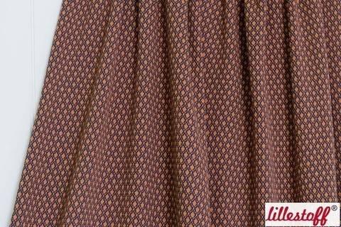 Brauner Jacquard lillestoff: Cinamon Pitti - 160 cm kaufen im Makerist Materialshop