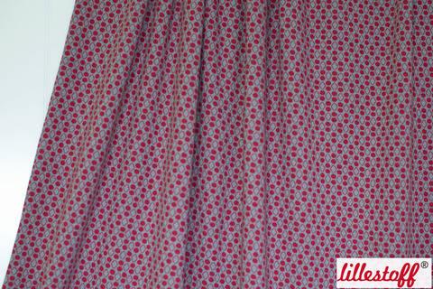 Beerenroter Jacquard lillestoff: Raute ´n´ Dots - 150 cm kaufen im Makerist Materialshop