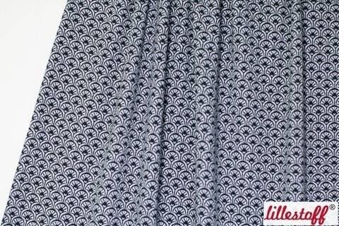 Schwarzer Jacquard lillestoff: Rising Sun - 170 cm kaufen im Makerist Materialshop