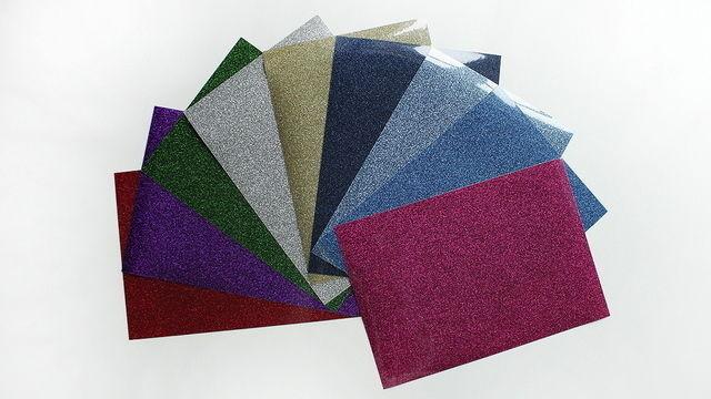 Glitzernde Flexfolie zum Plotten - DIN A4 - Plotter und Folien kaufen im Makerist Materialshop