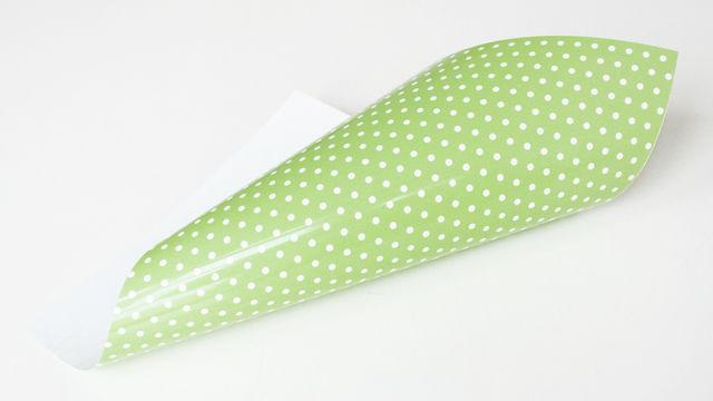Pünktchen Flexfolie zum Plotten - limette - Plotter und Folien kaufen im Makerist Materialshop