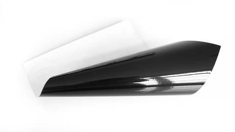 Glänzende Vinylfolie - schwarz kaufen im Makerist Materialshop