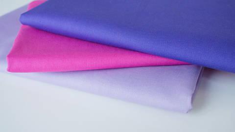 3er Unikombi Stoff-Set: Heide lila - 50 cm kaufen im Makerist Materialshop