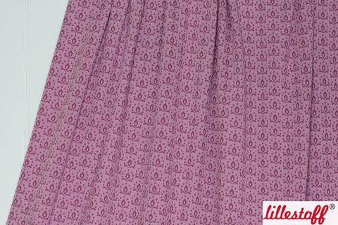 Rotwein Jacquard lillestoff: Wilde Rose Kombi - 130 cm kaufen im Makerist Materialshop