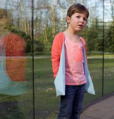 Acheter Patron pochette cardigan enfant Susanne par Compagnie M. dans la mercerie Makerist
