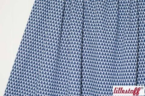 Marine Jacquard lillestoff. Triangle - 170 cm kaufen im Makerist Materialshop